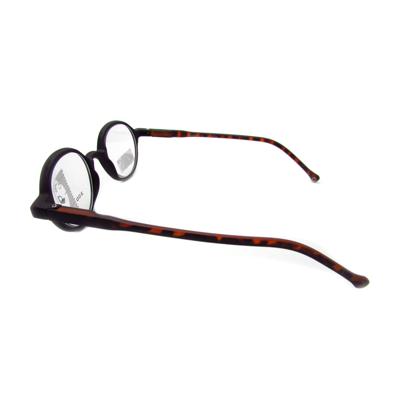 Round trendy multifocals magnifying reading glasses