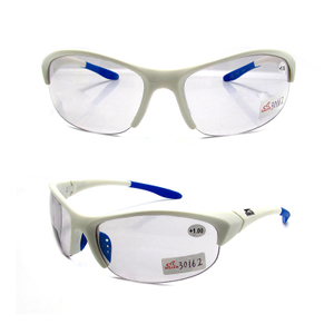 Sports photochromic bifocal reading sunglasses