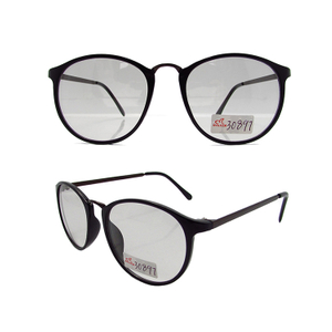 Plano lens photochromic glasses
