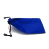 Glasses pouch with drawstring