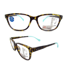 Progressive multifocus PC reading glasses with anti blue light