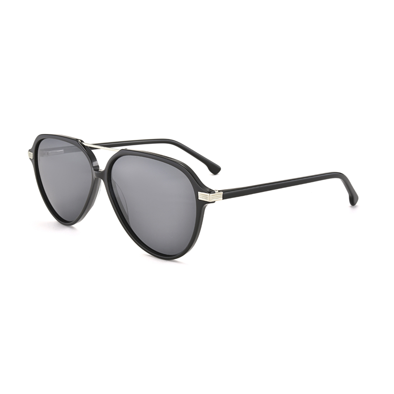 Retro Aviator Sunglasses for Men Women Square Vintage Metal Frame Sun glasses Classic Shades