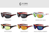 New Men Sports Sunglasses Sponge Frame Inside Men Outdoor Driving Cycling outdoor Bicycle Bike UV400 Sports Sun Glasses