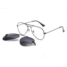 Magnetic Sunglasses Clip on for Men & Women UV400 Lens Clear Eyeglasses