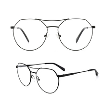 Metal Aviator Prescription Eyeglass Frames Classic Glasses Clear Lens Non Prescription Metal Frame Eyewear Men Women