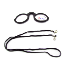 Nose clip pince nez reading glasses