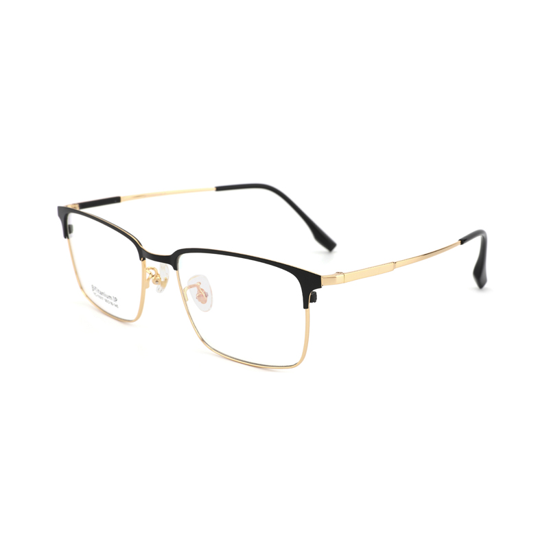 Titanium Business Optical Frame Clear Lens Titanium Classy In Style Eyeglasses