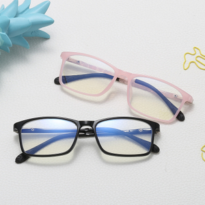 TR90 Flexible Kids Blue Light Blocking Glasses Anti Radiation Glasses Computer Glasses for Children