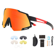 838 Polarized Cycling Glasses 5 Lens bike glasses photochromic Cycling sport Sunglasses Mountain UV400 eyeglasses