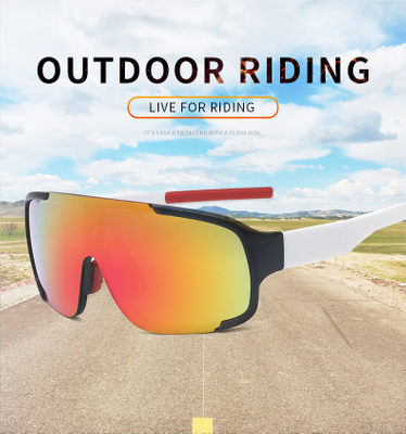 Photochromic Polarized Sports Sunglasses Bicycle Glasses Sport Sun Glasses with Glasses Box Cloth Test Card SunGlasses Sets