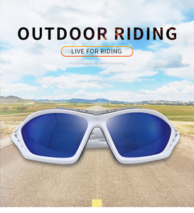Sports Sunglasses Sponge Frame UV400 Running Cycling Fishing Glasses Men Women